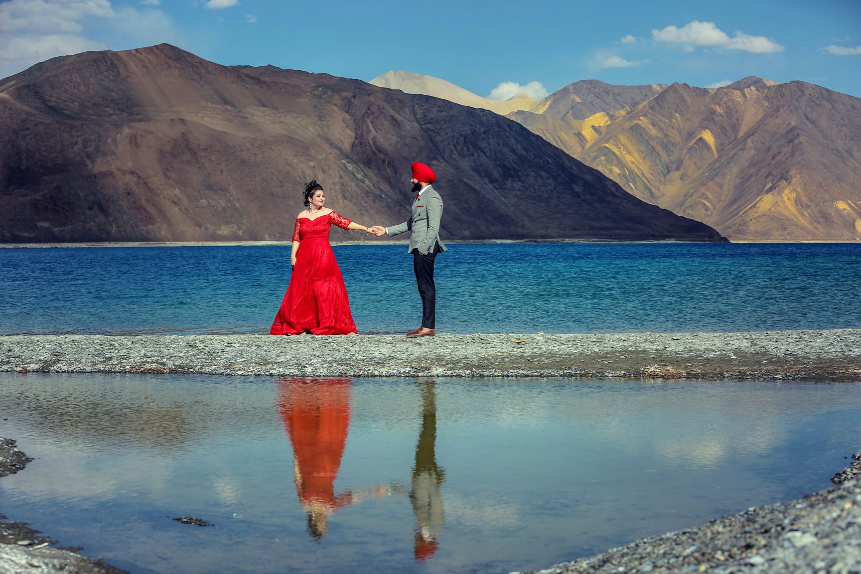 Best locations for Pre wedding photo shoots in India